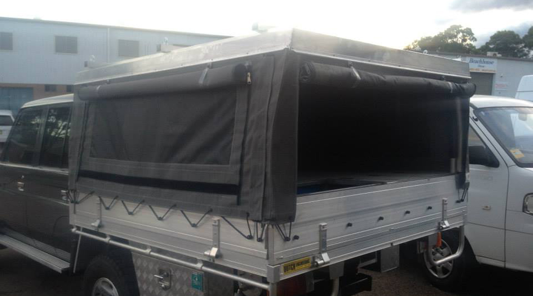 Ute trailer canopy charlestown canvas man - Canvas canopy ...